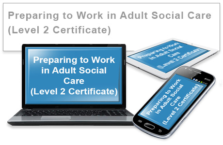 Preparing to Work in Adult Social Care (Level 2 Certificate) e-learning training course