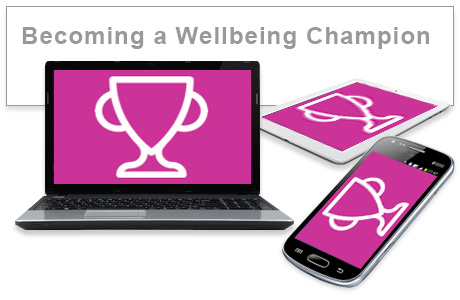 Becoming a Wellbeing Champion e-learning course