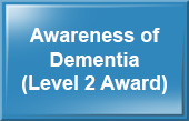Awareness of Dementia Award (Level 2) - Health and Social Care e-learning training course