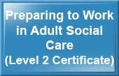 Preparing to Work in Adult Social Care (Level 2 Certificate) - Health and Social Care e-learning training course